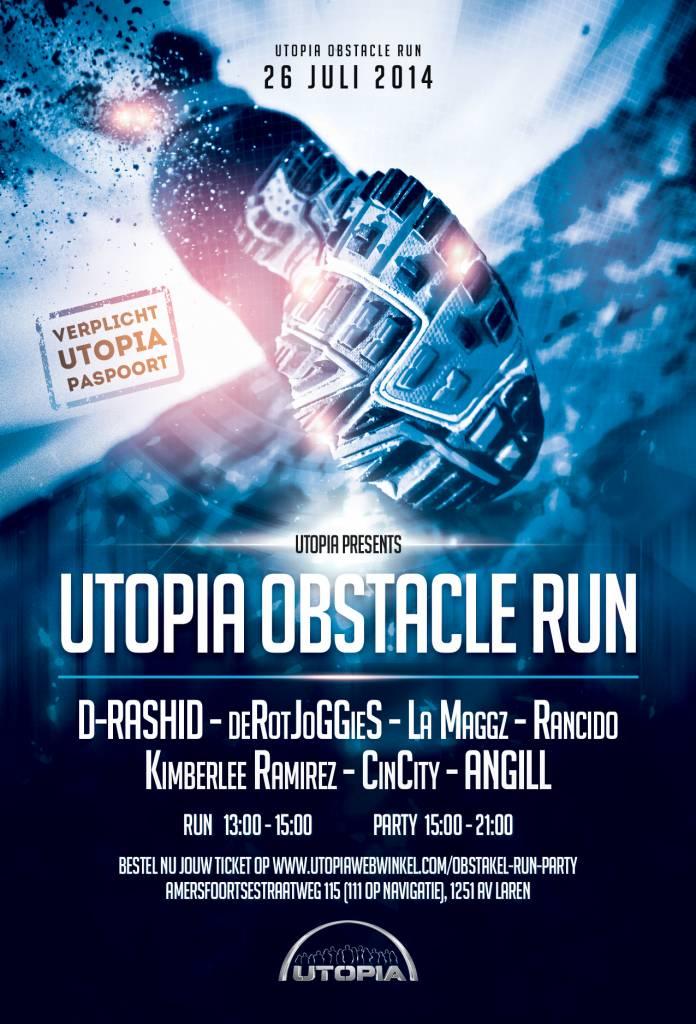 No Excuses, Doe mee met de Utopia Obstacle Run SBS6!
