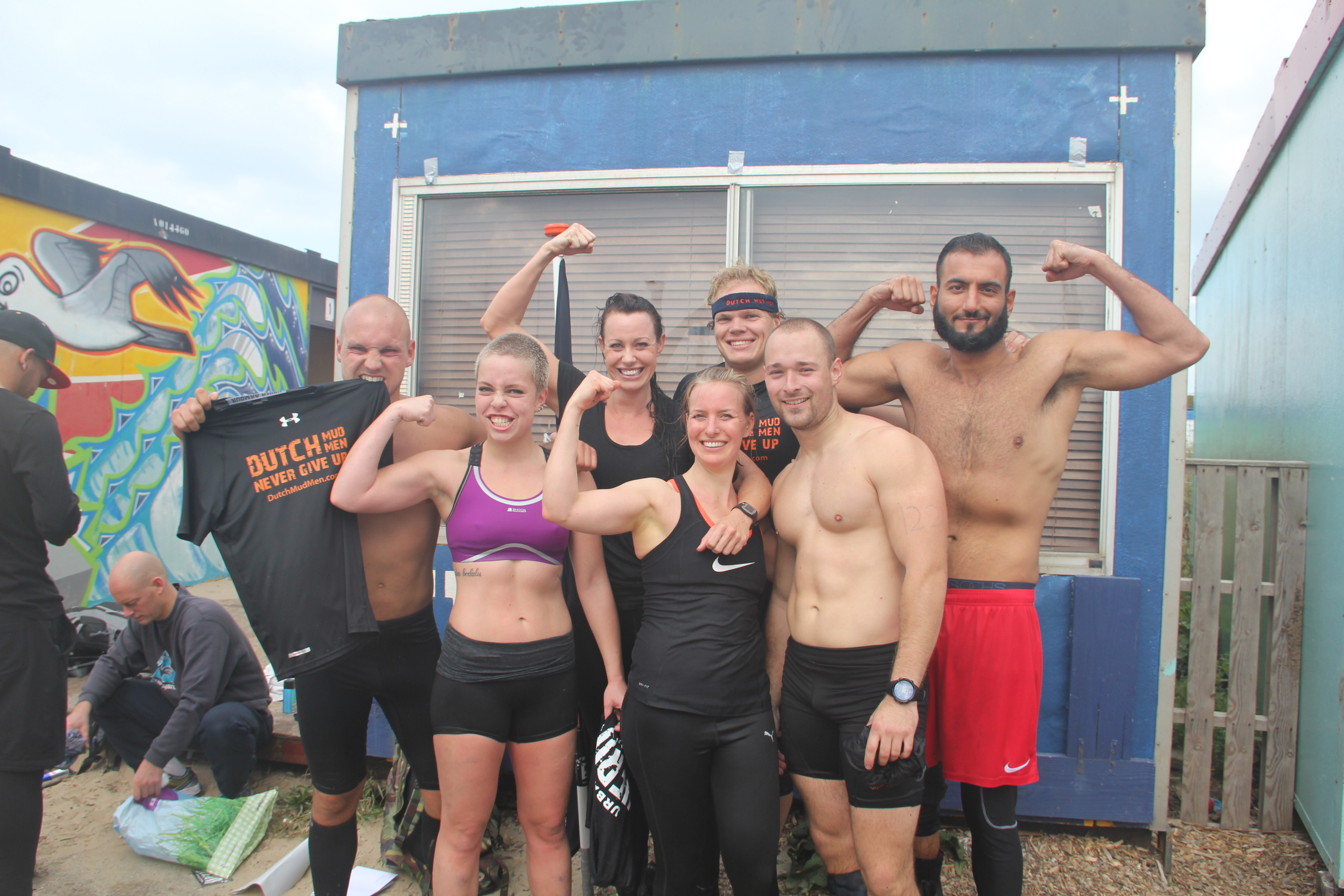 No Excuses, Team CrossFit Gooi/ No Excuses goes Urban Hero!